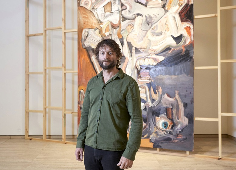 Talking with Painters features Australian artist Ben Quilty. Photo AGNSWMim Stirling