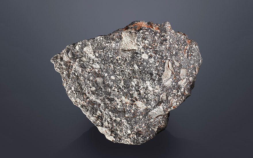 NWA 12691 — a massive specimen of the Moon. Lunar Feldspathic Breccia. Sahara Desert, Western Sahara. Offered for private sale at Christie's