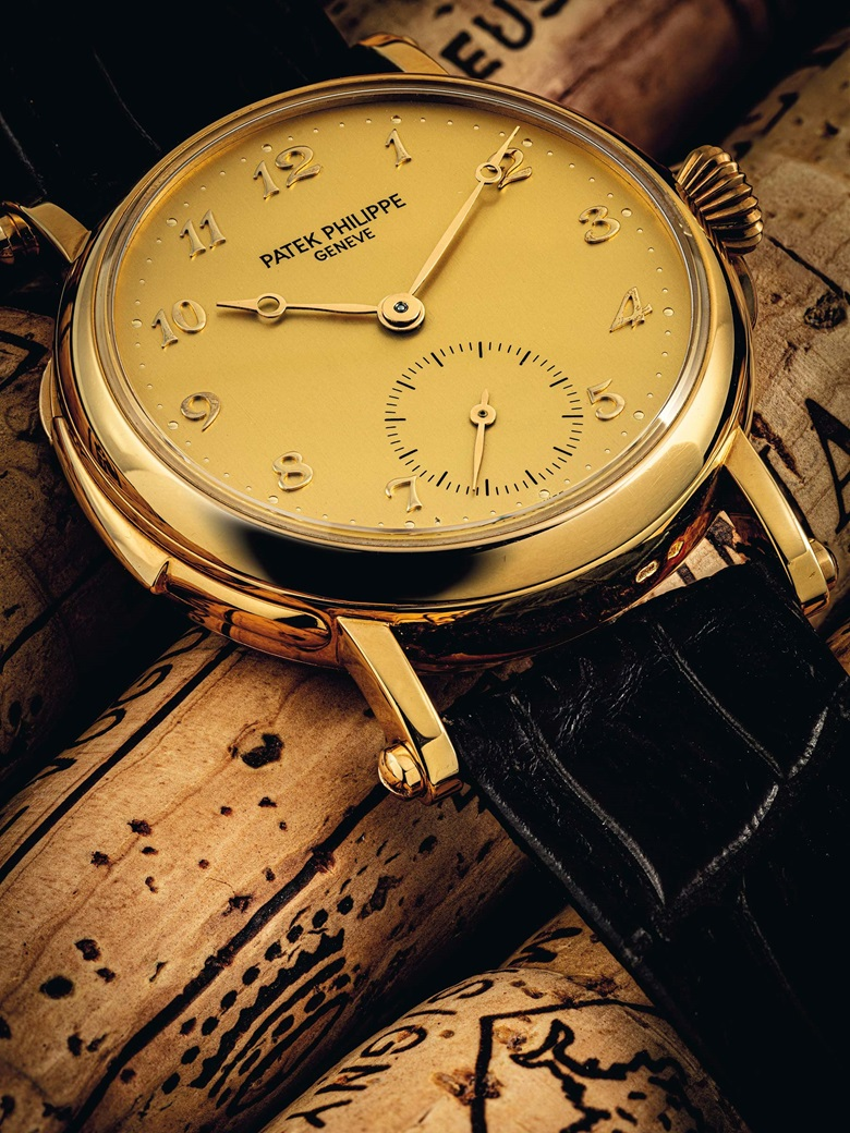Patek Philippe. A rare and important 18k gold automatic minute repeating wristwatch, ref. 5029, circa 1997