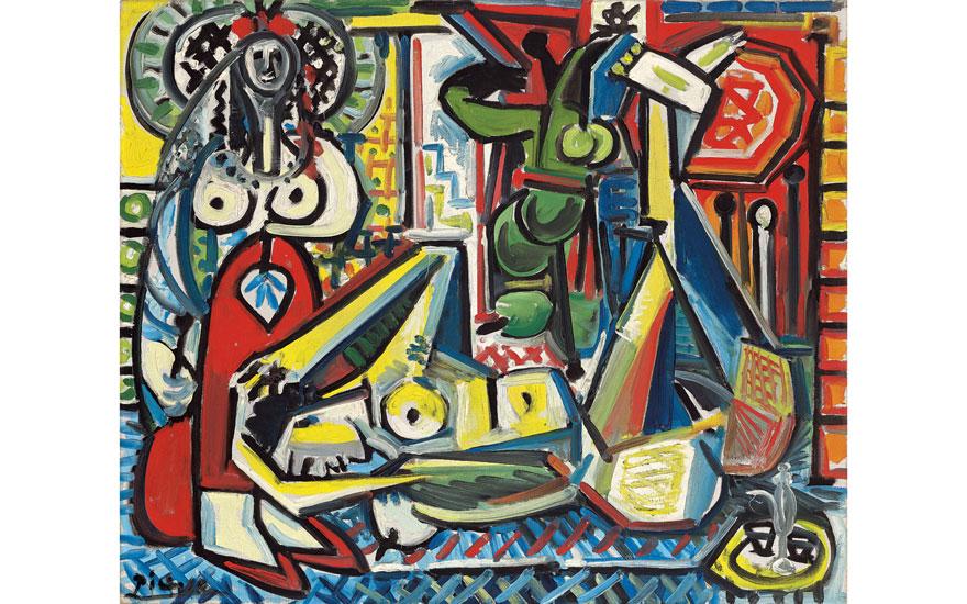 Picasso's Les femmes d'Alger t
