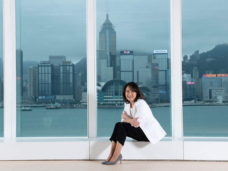 Maria Mok, Director of the Hong Kong Museum of Art. Photo Courtesy of Hong Kong Museum of Art