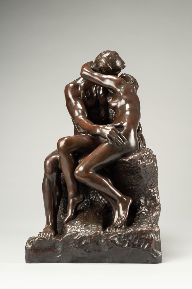 Auguste Rodin (1840-1917), Baiser, 3ème reduction. Conceived in 1886, this example cast between 1901-18 in an edition of 105-09. 39.4 x 24.3 x 26.8 cm (15½ in x 9½ in x 10½ in). Price on request. Offered for private sale at Christie's. View Impressionist and Modern Art currently offered for private sale at Christie's