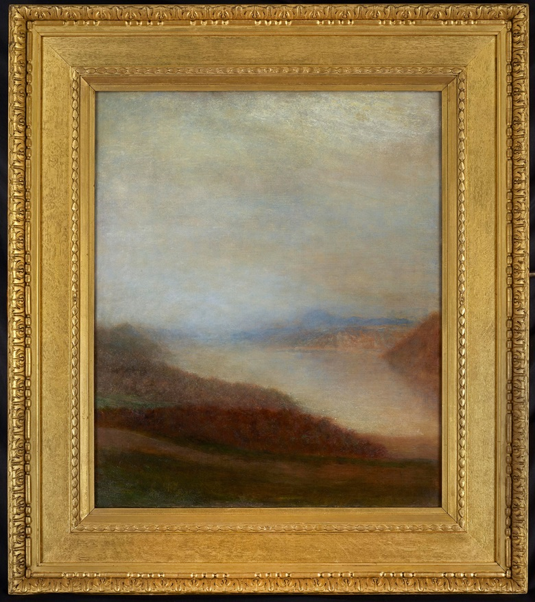 George Frederic Watts, O.M., R.A. (British, 1817-1904) Loch Ness, 1899. Oil on canvas in a Watts frame. 30 x 25 in (76 x 63.5 cm). £68,000. View European and British Art currently offered for private sale at Christie's