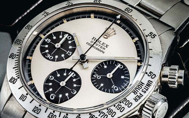 5 reasons why Rolex guys love  auction at Christies