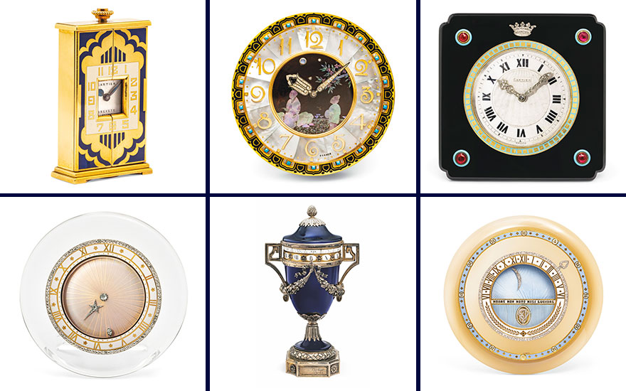 Collecting guide: Cartier cloc
