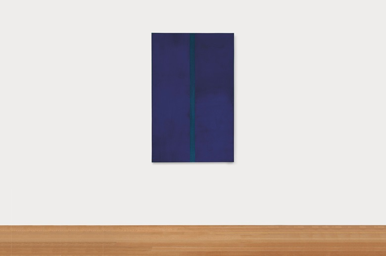 Barnett Newman, Onement V, 1952. Oil on canvas. 60 x 38 in (152.4 x 96.5 cm). Estimate $30,000,000-40,000,000. Offered in the ONE sale at Christie's New York on 10 July. Artwork © The Barnett Newman Foundation, New York  DACS, London 2020