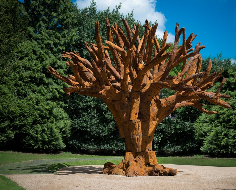 Ai Weiwei, Iron Tree, 2013. This work is number one from an edition of three. Cast iron. 247¼ x 279½ x 279½ in (628 x 710 x 710 cm). Available for immediate purchase