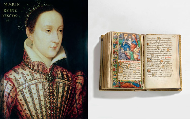 The prayer book of Mary, Queen auction at Christies