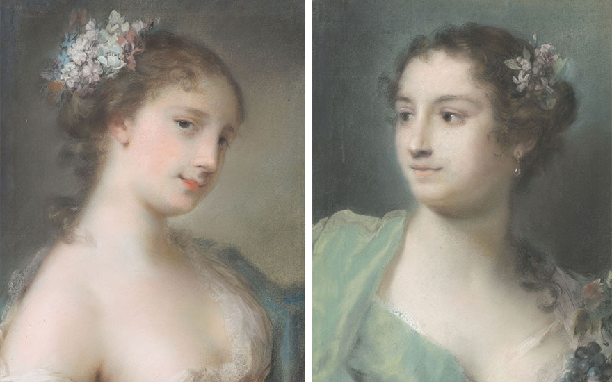 Rosalba Carriera the pastellist whose 'images came from heaven'