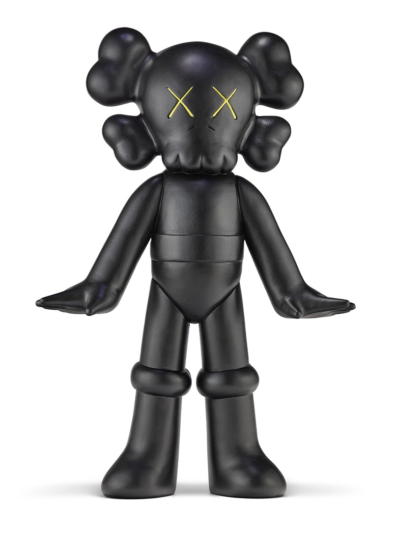 KAWS (B. 1974), Untitled (Astro Boy), 2003. Hand-painted resin. 18½ x 12⅝ x 4½ in (47 x 32 x 11.2 cm). Estimate $150,000-200,000. Offered in Trespassing, 5-19 August 2020, Online