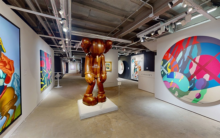 Virtual tour: Christies Modern auction at Christies