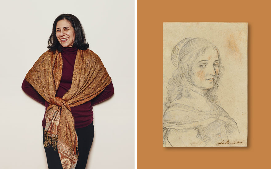 The Smith College Museum of Art curator Danielle Carrabino. Portrait by Tony Luong