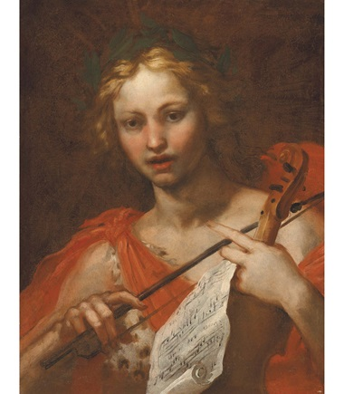 Baldassare Franceschini, Il Volterrano (1611-1690), Orpheus. Oil on canvas, 27⅝ x 21⅞ in (70.2 x 55 cm). Estimate £10,000-15,000. Offered in Discovering Old Masters The Legacy of Piero Corsini, 23 September-7 October 2020, Online