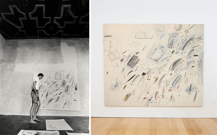 Moonstruck: Cy Twombly's homag