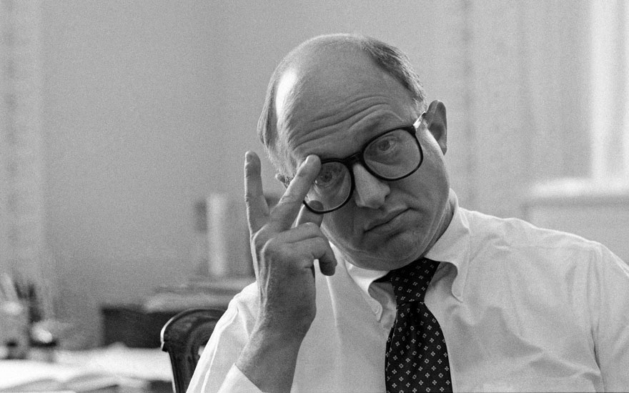 Martin Feldstein at his office ​in Washington on September 11, 1983.​ Photo George TamesNew York TimesReduxeyevine