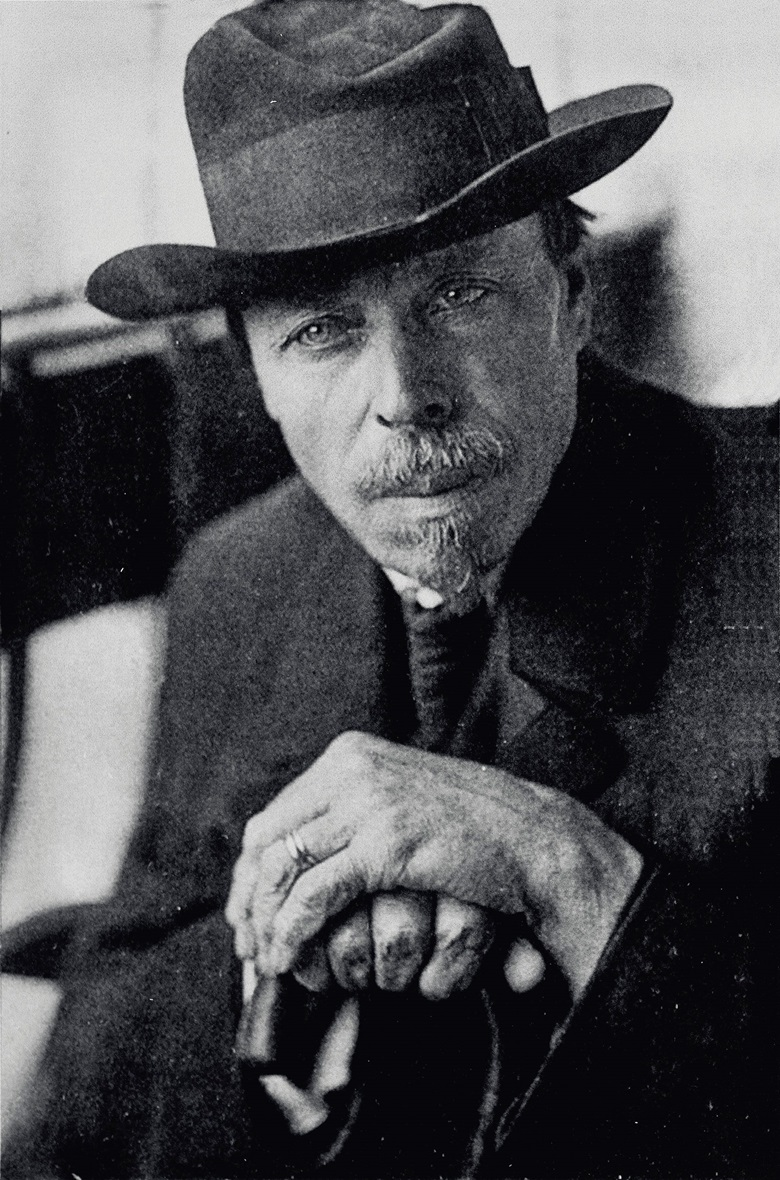 Mikhail Vasilyevich Nesterov, photographed in the mid-1920s by an unknown photographer