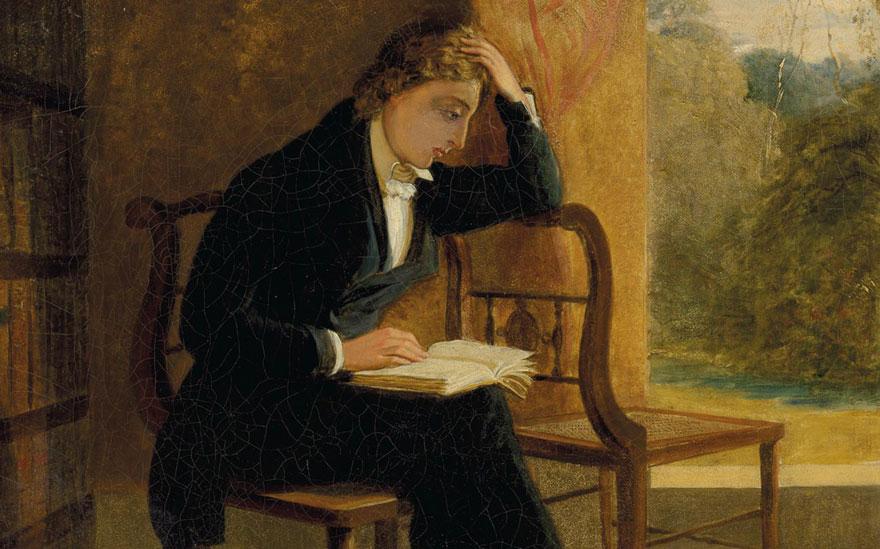 Joseph Severn's portrait of hi