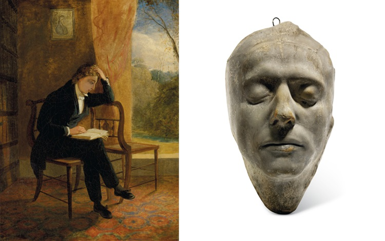Joseph Severn's portrait of hi auction at Christies