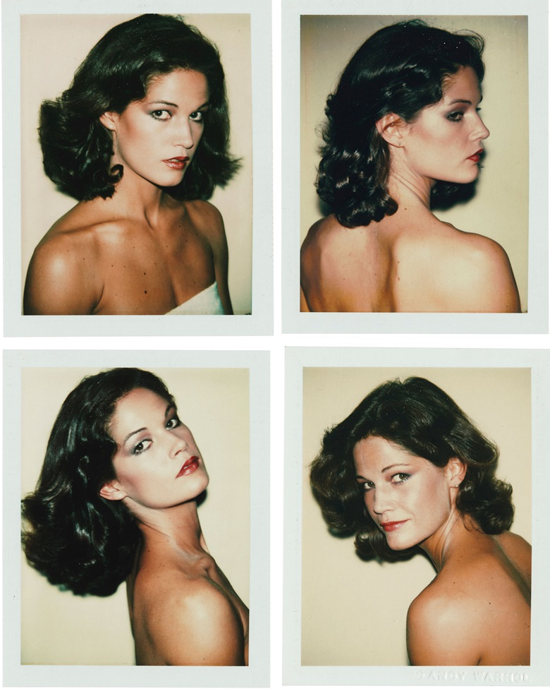 Andy Warhol (1928-1987), Barbara Allen, 1977. Four polaroid prints. Each image 3¾ x 3 in (9.5 x 7.6 cm). Each sheet 4¼ x 3½ in (10.9 x 8.8 cm). Sold for $21,250 on 2 October 2019 at Christie's in New York. Artwork © 2020 The Andy Warhol Foundation for the Visual Arts, Inc.  Licensed by DACS, London
