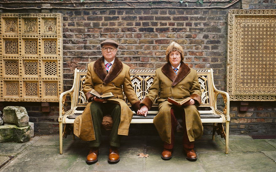 Gilbert & George in 2019. Photograph by Jooney Woodward