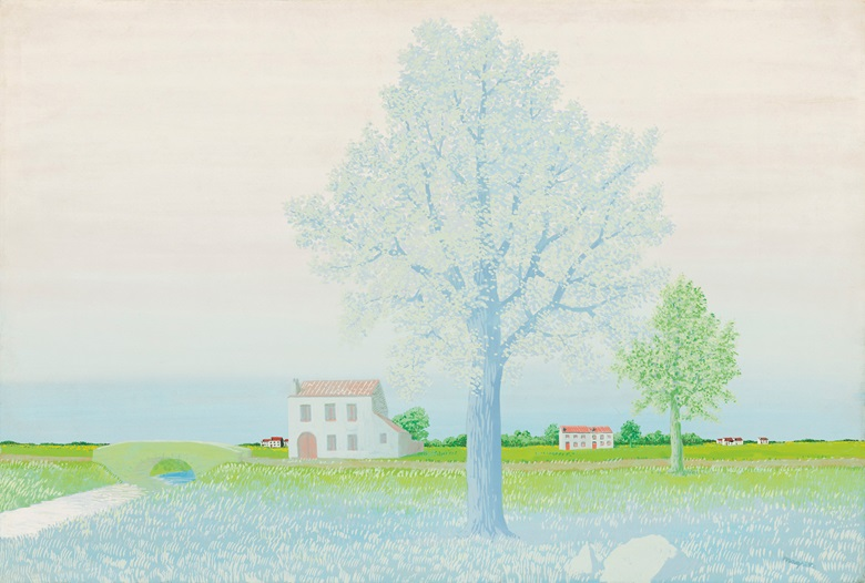 René Magritte (1898-1967), La tapisserie de Pénélope, 1943. Gouache on wove paper. 15½ x 22⅞ in (39.5 x 58.2 cm). Estimate £500,000-700,000. Offered in The Art of the Surreal on 23 March 2021 at Christie's in London