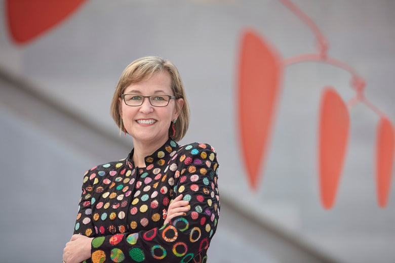 Kaywin Feldman, who in December 2018 became the first woman director of the National Gallery of Art in Washington, D.C. Photo Courtesy National Gallery of Art, Washington