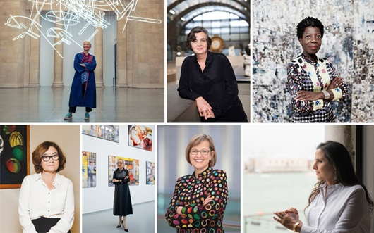 Meet the women museum director auction at Christies