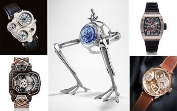 Independent watchmakers: 10 na auction at Christies