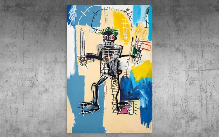 Up close: Jean-Michel Basquiat auction at Christies