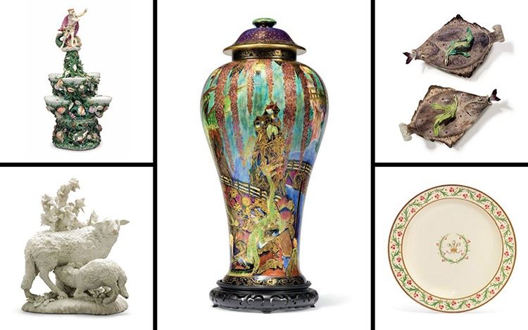 How to collect British ceramic auction at Christies