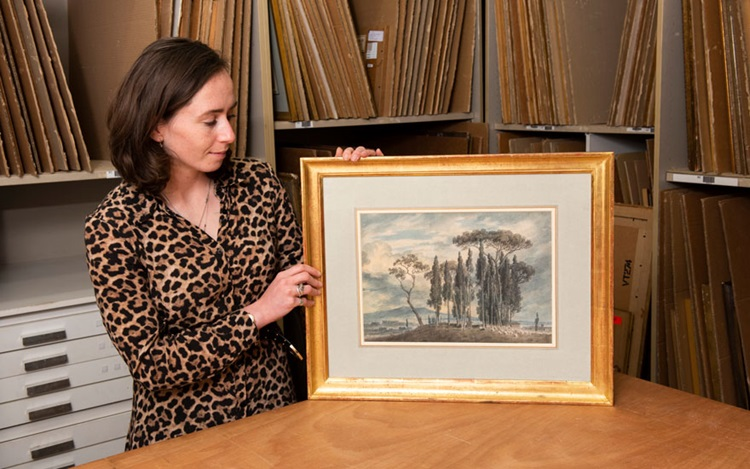 A rare work by John Robert Coz auction at Christies