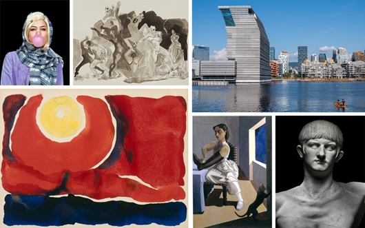 Updated: art exhibitions and e auction at Christies