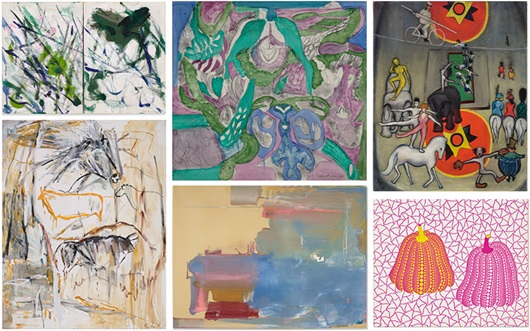 Eight female artists who are f auction at Christies
