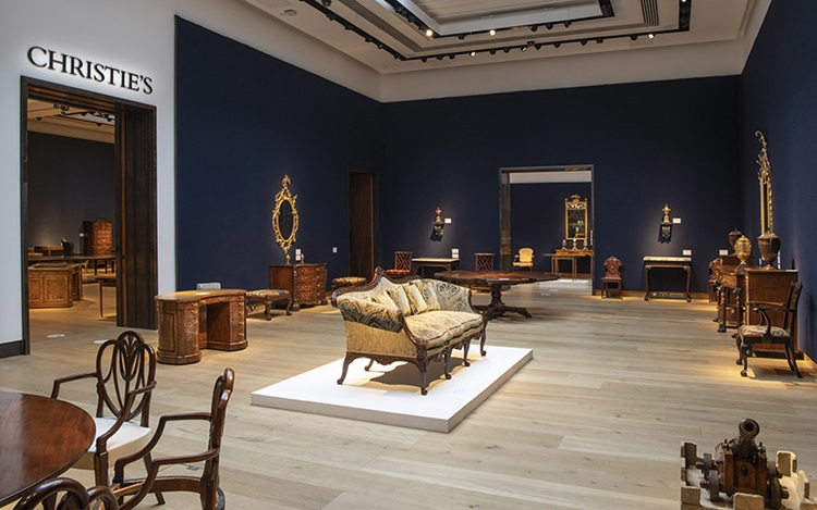 Virtual tour: Apter-Fredericks auction at Christies