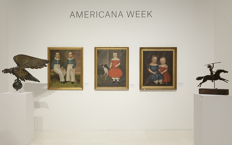 Virtual tour: Americana Week a auction at Christies