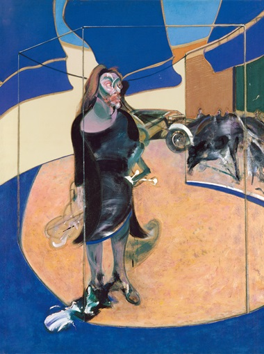 Francis Bacon, Portrait of Isabel Rawsthorne Standing in a Street in Soho, 1967. © The Estate of Francis Bacon. All rights reserved, DACS 2020