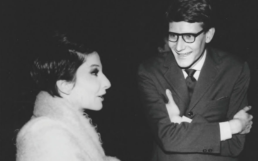 'All she had to do was come on stage and everything burst into life, fire and flames' — Yves Saint Laurent on Zizi Jeanmaire