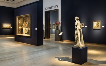 Virtual tour: Classic Week at  auction at Christies