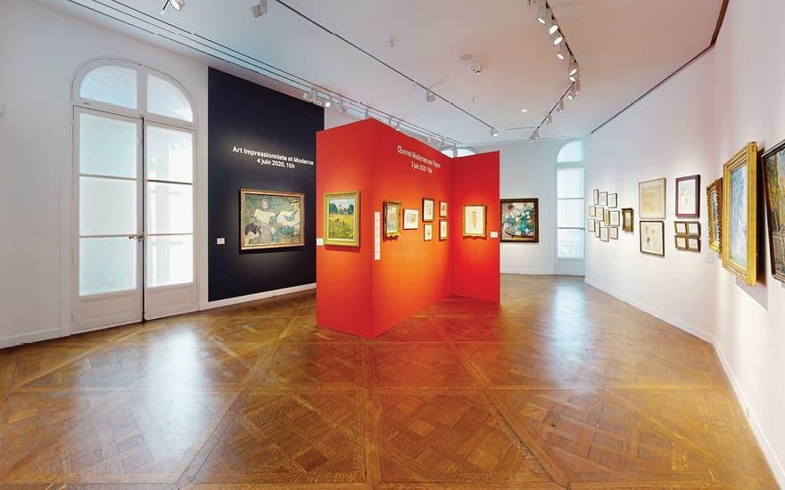 Virtual tour: Impressionist, M