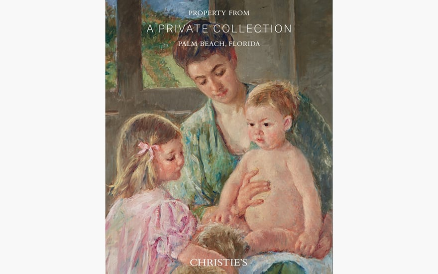 Special Publication:  Property from A Private Collection Palm Beach Florida