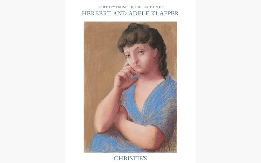 Special Publication: Property from the Collection of Herbert and Adele Klapper
