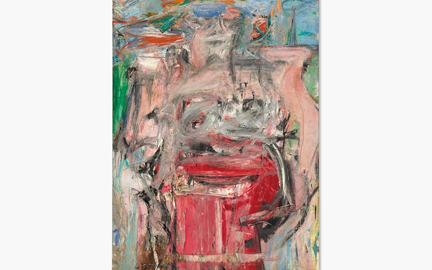 Willem de Kooning (1904-1997) Woman as Landscape