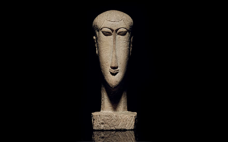 Amedeo Modigliani (1884-1920), Tête 