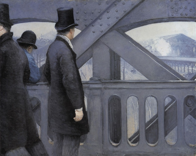 Gustave Caillebotte, Le Pont de l'Europe, 1876-1877. Kimbell Art Museum, Fort Worth.