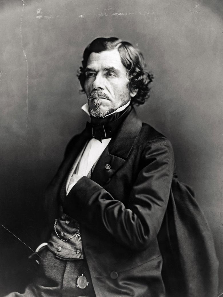 Eugène Delcroix, circa 1859. Photograph by Paul Nadar. Photo BettmannGetty Images.