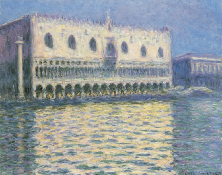 Claude Monet, Le Palais Ducal, 1908. The Brooklyn Museum, gift of A. Augusus Healy.
