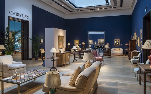 Virtual tour: The Collection o auction at Christies