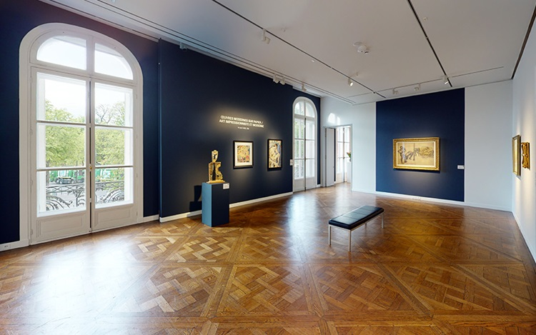 Virtual tour: Impressionist an auction at Christies