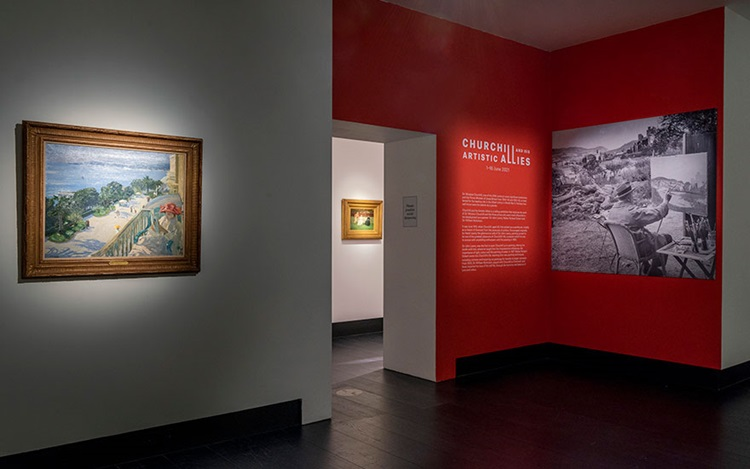 Virtual tour: Churchill and hi auction at Christies