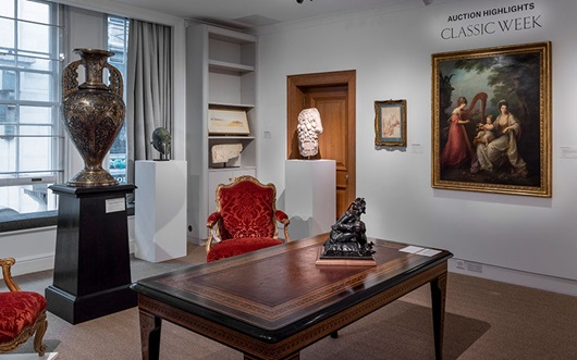 Virtual tour: Classic Week hig auction at Christies